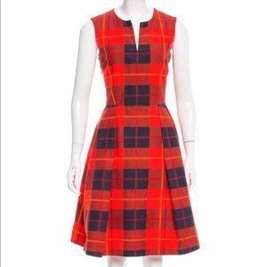 Kate Spade Plaid Pocketed Dress